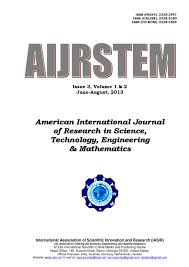 American International Journal of Research in Science Technology