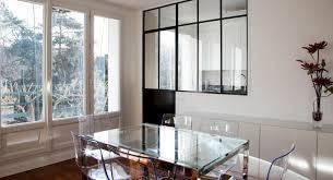 atelier de la cuisine une verrière type atelier d artiste pour séparer la cuisine du salon