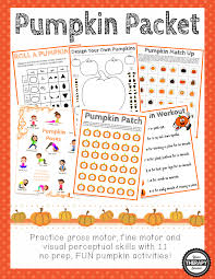 Halloween Acrostic Poem Ideas by Pumpkin Packet Your Therapy Source