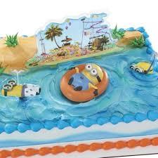 Bubble Guppies Cake Decorating Kit by Minions Beach Party Cake Decorating Kit 3 Pieces At Dollar Carousel