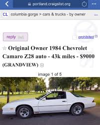 100 Craigslist Portland Oregon Cars And Trucks For Sale By Owner Camarosforsale Hash Tags Deskgram