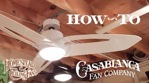Allen Roth Ceiling Fan Manual by How To Install A Ceiling Fan Casablanca Homestead Star Starlet