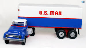 Awesome 1950s Restored Vintage Tonka 'US Mail' Toy Truck - Sina's ...