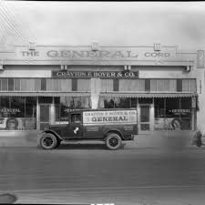 100 Boyer Ford Trucks Inc Calisphere Delivery Truck In Front Of Crayton F S Company