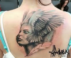 Jo Angel Face Ink Tegrity Tattoo