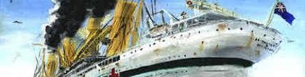Brittanic Sinking by Event Program U2013 100 Years Kea Shipwrecks Org