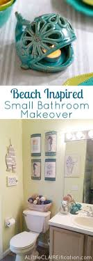 Beach Themed Bathroom | + DIY Ideas | Beach Theme Bathroom, Ocean ... Bathroom Theme Colors Creative Decoration Beach Decor Ideas Small Design Themed Inspired With Vintage Wall And Nice Lewisville Love Reveal Rooms Deco Decorations Storage Guys Images Drop Themes 25 Best Nautical And Designs For 2019 Cottage Bathroom Home Remodel Pinterest Beach Diy Wall Decor 1791422887 Musicments Navy Grey Coastal Tropical Themed Decorating Ideas Theme Office Lisaasmithcom