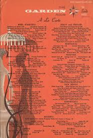 The Upper Deck Akron Ohio Menu by 410 Best Vintage Menus Images On Pinterest Vintage Menu Dinner