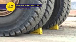 National Plastics & Rubber - Size 6 Wheel Chock Testing - YouTube Goodyear Wheel Chocks Twosided Rubber Discount Ramps Adjustable Motorcycle Chock 17 21 Tires Bike Stand Resin Car And Truck By Blackgray Secure Motorcycle Superior Heavy Duty Black Safety Chocktrailer Checkers Aviation With 18 In Rope For Small Camco Manufacturing Truck Bed Wheel Chock Mount Pair Buy Online Today Titan Wheels Gallery Pinterest Laminated 8 X 712
