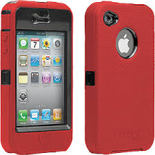 $24 95 Red OtterBox Defender Silicone Case for Apple iPhone 4