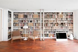 bücherwand altholz contemporary room dortmund