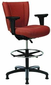 Lexmod Edge Office Drafting Chair by Flash Furniture Mesh Mid Back Drafting Chair Grayblack By Office