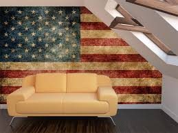 Sweet Ideas American Flag Wall Decor Or Art Designs Beautiful Vintage Mural Home