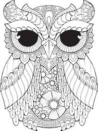 25 Unique Owl Coloring Pages Ideas On Pinterest