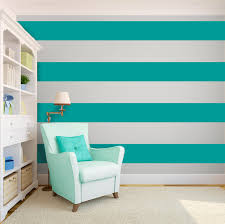 create an interesting ribbon effect on your walls for splendor look