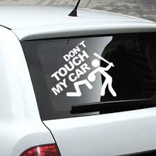 Funny White Don't Touch My Car Stickers Decals Waterproof Vehicle ... Clear Car Decalsclear Window Stickerscar Decal 5 Best Stickers For Cars In 2018 Xl Race Parts 6 Pack Thin Blue Line Police Law Enforcement 2pcs 3d Yellow Eye Truck Graphics Sticker 4 X Safety Camera Recording60x87mm Window Stkersvehicle Security For Trucks Extension Esymechas Metal Rock On Vinyl Decor Waterproof Amazoncom Stone Cold Country By The Grace Of God 8 Die Cut Ar15com Dash Cam Recording30x87mm Camera Decals Calgary In Recordingstandard Designwindow
