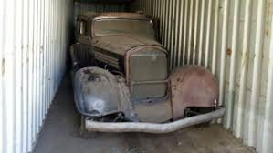 Time Capsule 1934 Buick Found After Sitting In Shipping Container ...