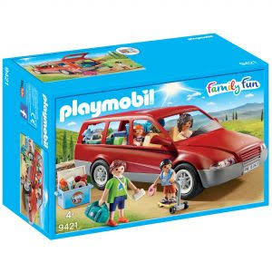 Playmobil 9421 Family Fun Family Car Set