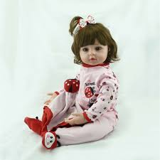 Cute 19 Realistic Toddler Girl Doll Reborn Baby Dolls Kids