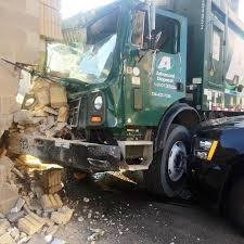 100 Garbage Truck Movies Truck Hits Uniontown City Police Station Damaging Building