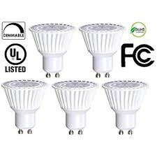 le led gu10 50w 5 pack bioluz led gu10 50w equivalent uses only 6 5 watts