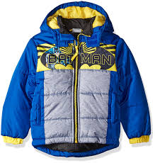 amazon com warner bros little boys u0027 batman puffer coat clothing