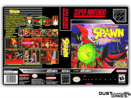 Spawn: The Video Game SNES Super Nintendo Game Case Box Cover Brand ...