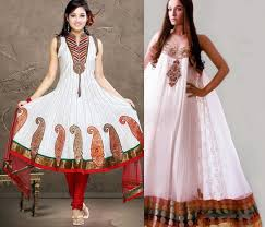 Latest Pakistani Fancy Frock Design For Girls 2013 1