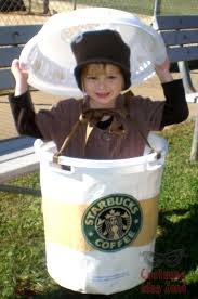 Starbucks Coffee Cup Halloween Costume Idea