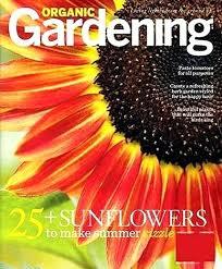 Magazine Organic Gardening Good Organic Gardening Magazine