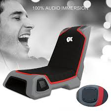 Video Rocker Gaming Chair Amazon by Amazon Com Proxelle Video Game Chair Dual 3w Speakers Ps4 Ps3