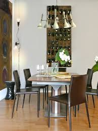 Image Of Dining Room Wall Wine Rack