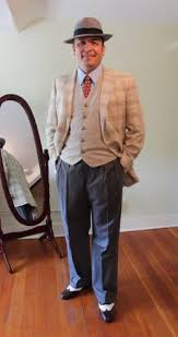 1940s Mens Outfit Idea Costume Semi Casual Style
