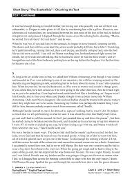 Short Story The Scarlet Ibis STUDENT TEXT PAGE 156 Pages 1
