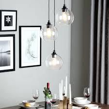 Designer Glass Pendant Lights Ceiling White Light Fixture Bulb