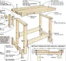build wood workbench plans discover woodworking projects
