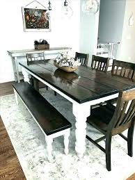 Black Dining Set With Bench Vintage Table Benches Full Size Of Kitchen Welcome To Furniture Dark Brown