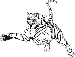Tiger Printable Coloring Pages