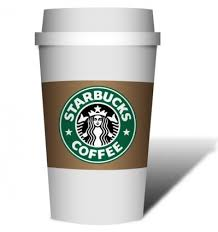 Starbucks Coffee Cup Clipart 1