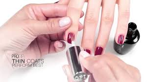 opi infinite shine tutorial youtube