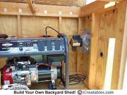 how to build a generator enclosure rural area generators and