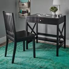 Black Writing Desk And Chair by Black Writing Desks Shop The Best Deals For Dec 2017