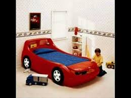 little tikes race car bed youtube