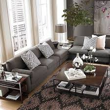 Grey Leather Sectional Living Room Ideas by Manificent Creative Grey Sectional Living Room Best 20 Gray Inside