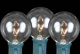 novelty lights 25 pack g50 outdoor string light globe