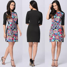 dress women casual dresses floral printed new creatives design