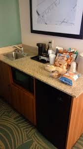 SpringHill Suites Little Rock West Spacious Counter Tops Sink Coffee Maker Ice
