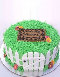 Welcome New Home Cake