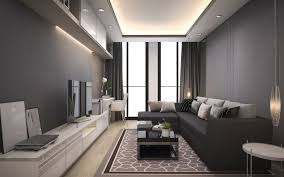 100 Download Interior Design Wallpapers Living Room Stylish Gray Interior Design Gray