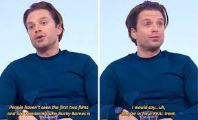 Actor Marvel Quote Sebastian Stan Bucky Barnes